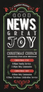 """Good News Great Joy"" Flyer"